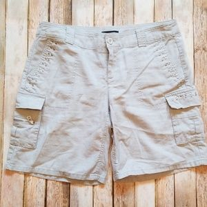 Cargo Shorts - Light Grey